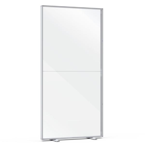 Hygiene-Schutzwand freistehend PicUp 100x245cm