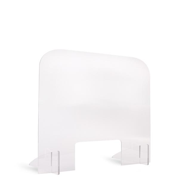 Hygiene-Schutz freistehend 80x60cm - Flamingo Druckparadies