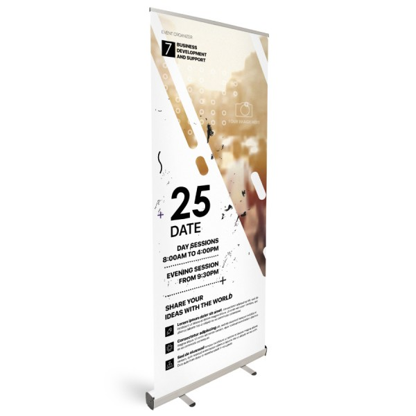 Roll-Up Classic 60x200cm - Flamingo Druckparadies