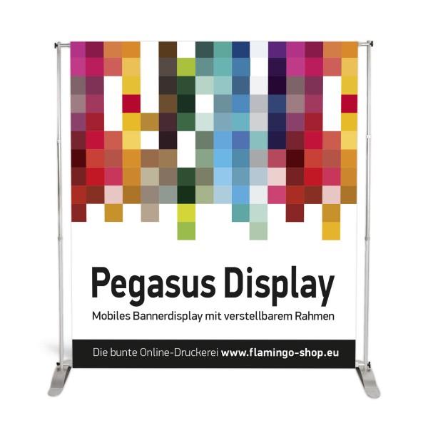Bannerdisplay Pegasus mit Teleskopstangen