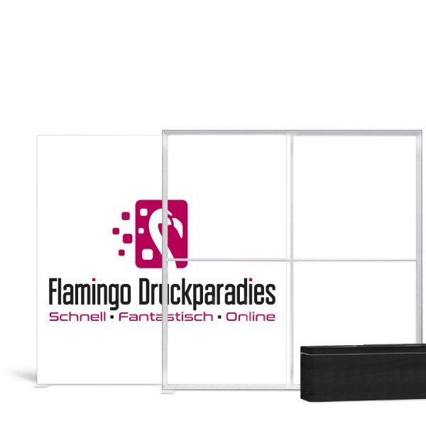 Pixlip Go Lightbox 200x200cm - Flamingo Druckparadies
