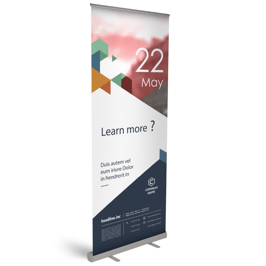 Roll-Up Basic 60x200cm