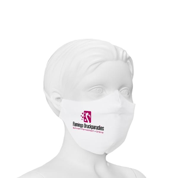 Gesichtsmaske aus Stoff für Kinder, eigenes Design - Flamingo Druckparadies