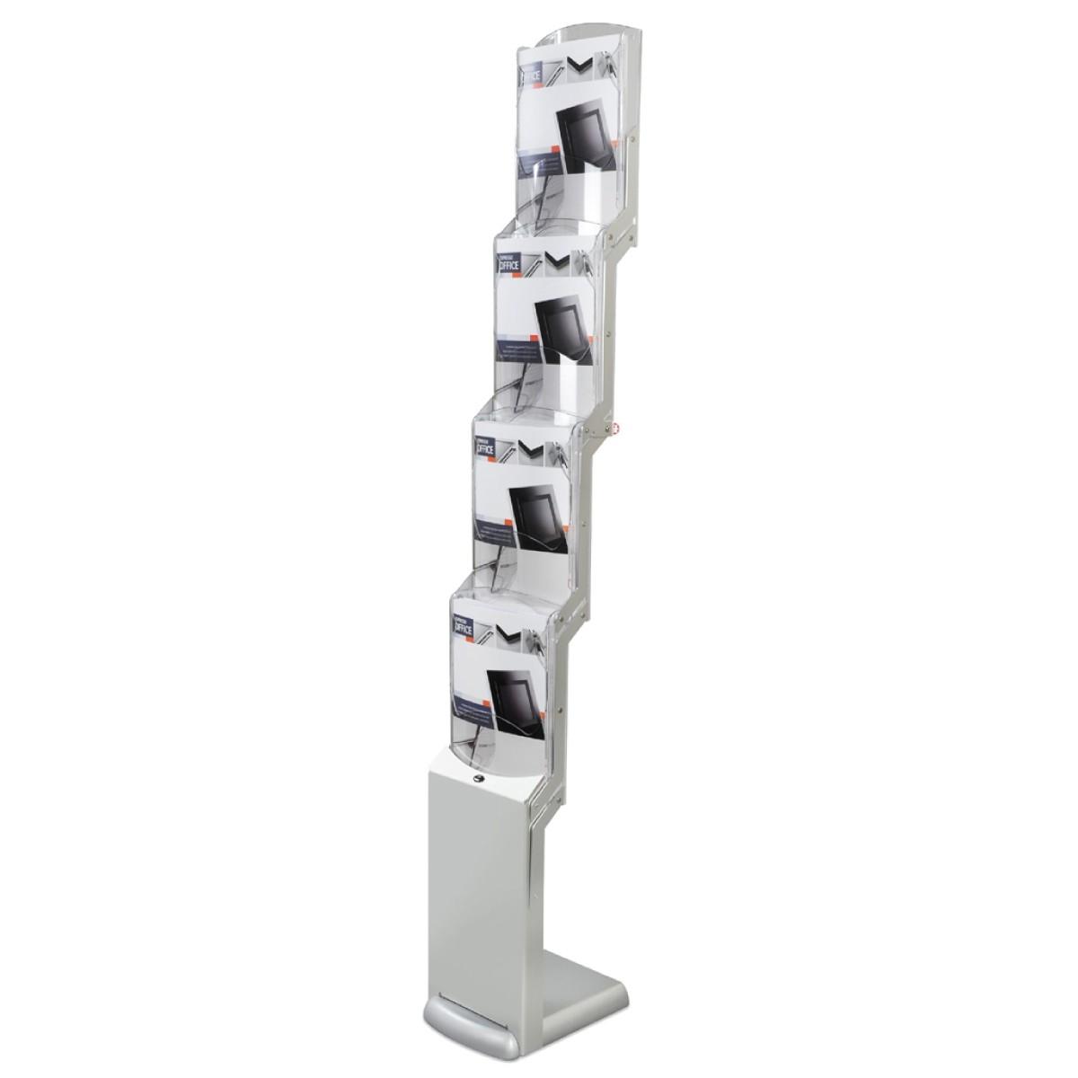 Faltbarer Prospektständer Real Zip Flexi - 4xA4