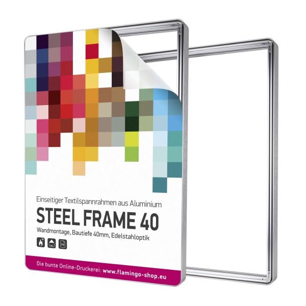 Spannrahmen Steel Frame 50x50cm - System inkl. Druck