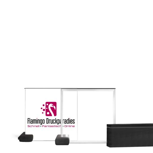 Pixlip Go Counter Outdoor Lightbox 100x100cm - Flamingo Druckparadies