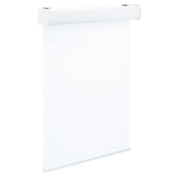 Hygiene-Rollo mit Kassette - weiß beschichtet