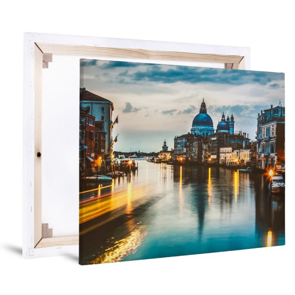 Foto auf Leinwand 20x20cm - Flamingo Druckparadies