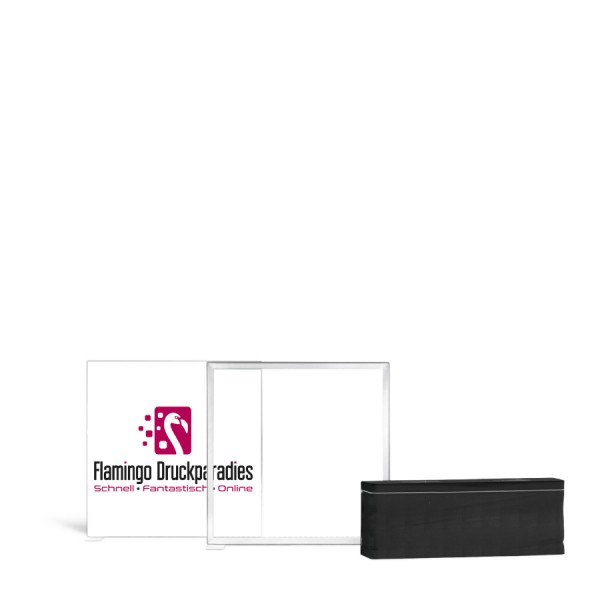 Pixlip Go Lightbox 100x100cm - Flamingo Druckparadies