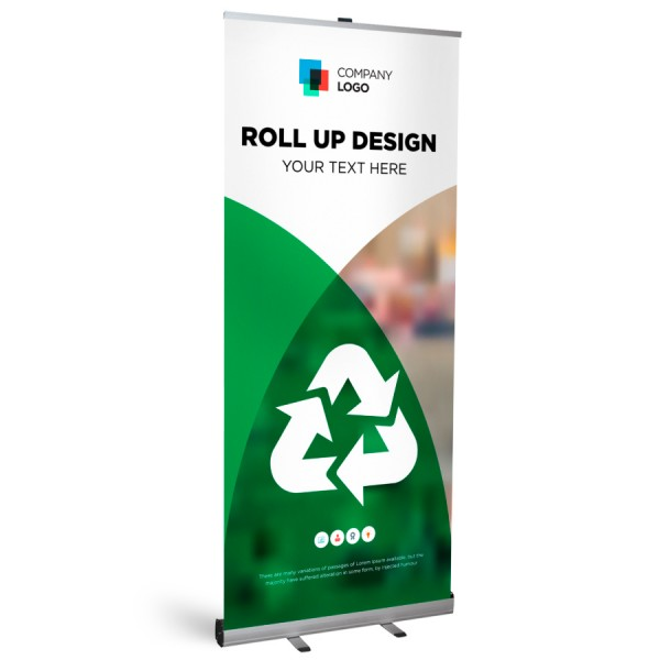 Roll-Up Classic Plus 85x200cm - Flamingo Druckparadies