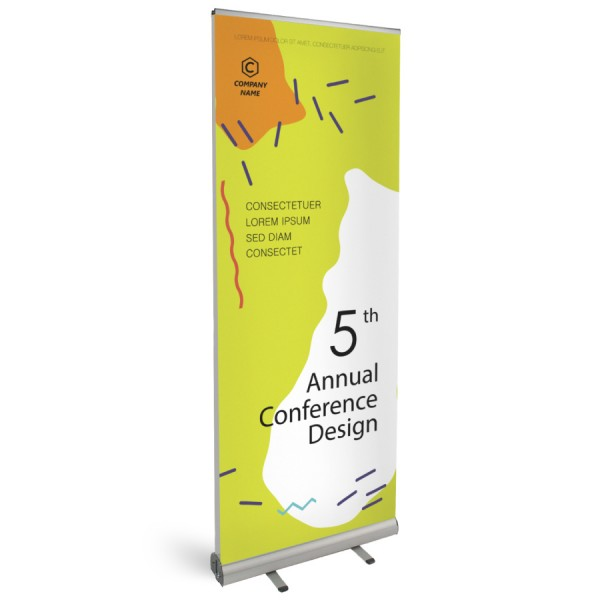 Roll-Up Classic Duo 85x200cm - Flamingo Druckparadies